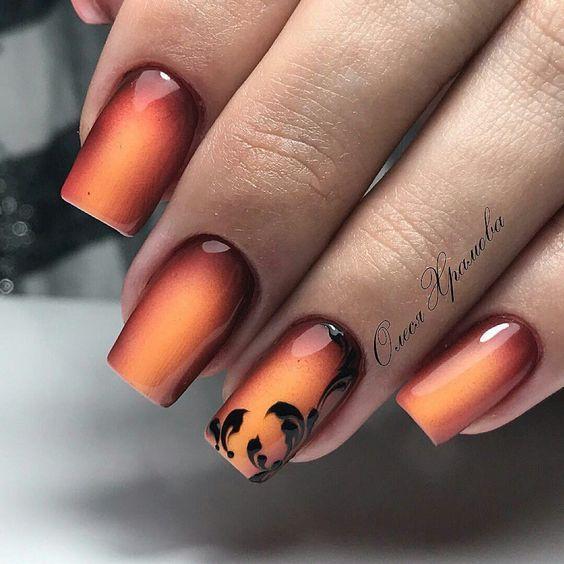 Gel Nail Ideas For Autumn Papillon Day Spa