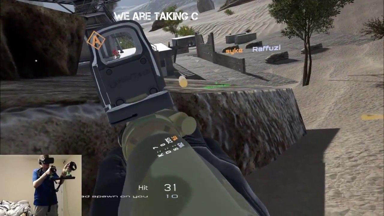 War Dust Kill Streak with Magnetic Gun Stock | Virtual Reality (VR