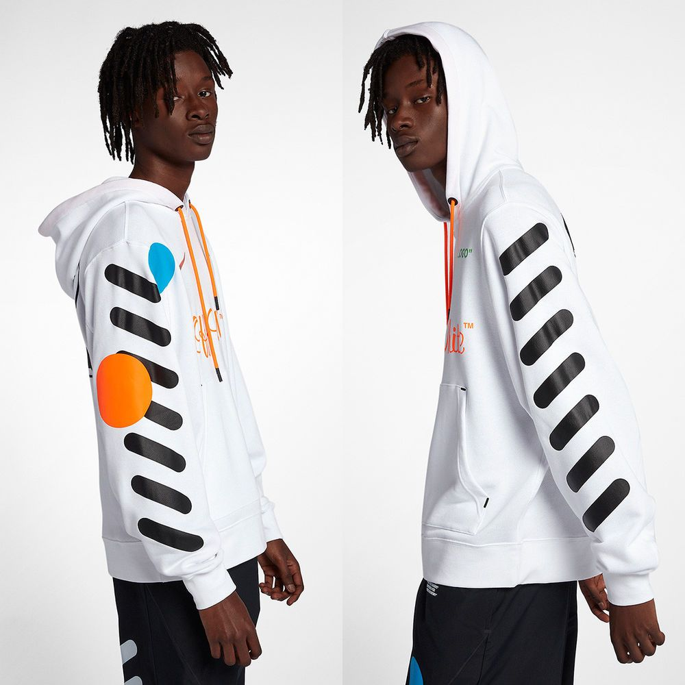32ef29dc19f3 Nike x Off-White Men s Hoodie - White Size L Virgil Abloh World Cup ...