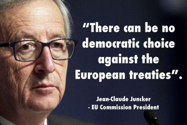 Juncker, Europa's schandvlek!!!!!