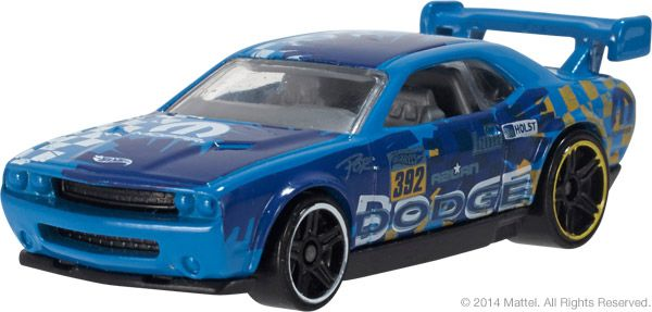 Dodge Challenger Drift Car Road Rally Kmart Hot Wheels