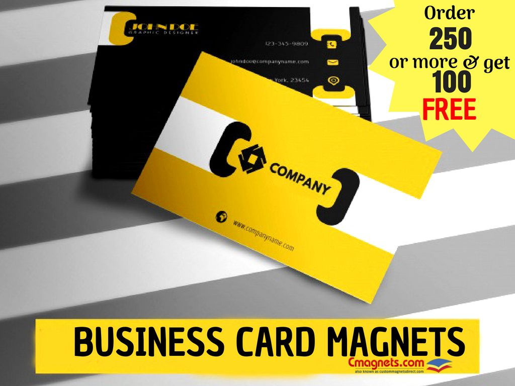 We Have An Unbeatable Offer Of 100 Free Magnets Every Time You Buy More Than 250 Units Hurry Good Times Never Last Long Custom Magnets Business Cards Cards