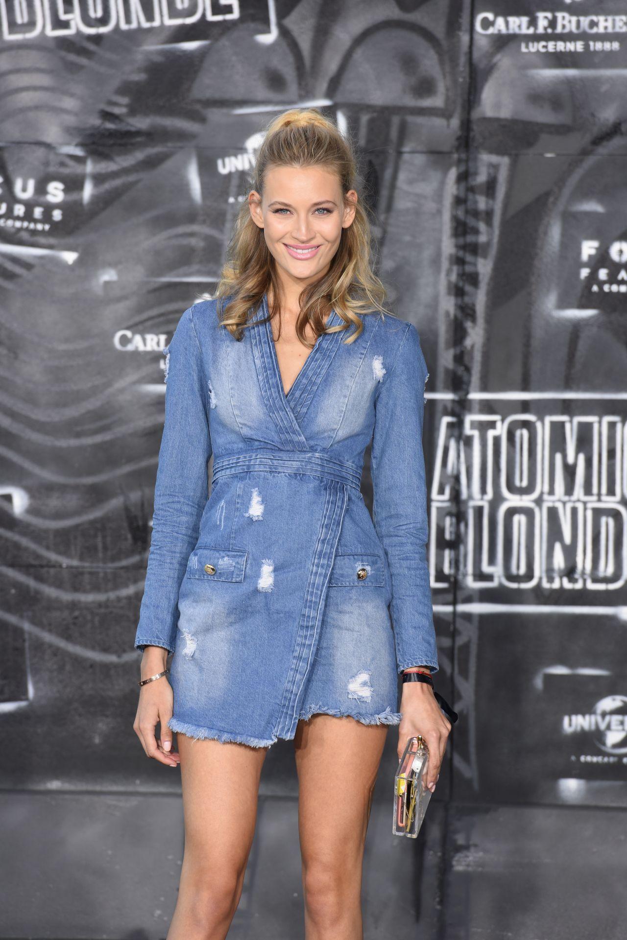 Mandy Bork - Atomic Blonde Premiere in Berlin 07/17/2017