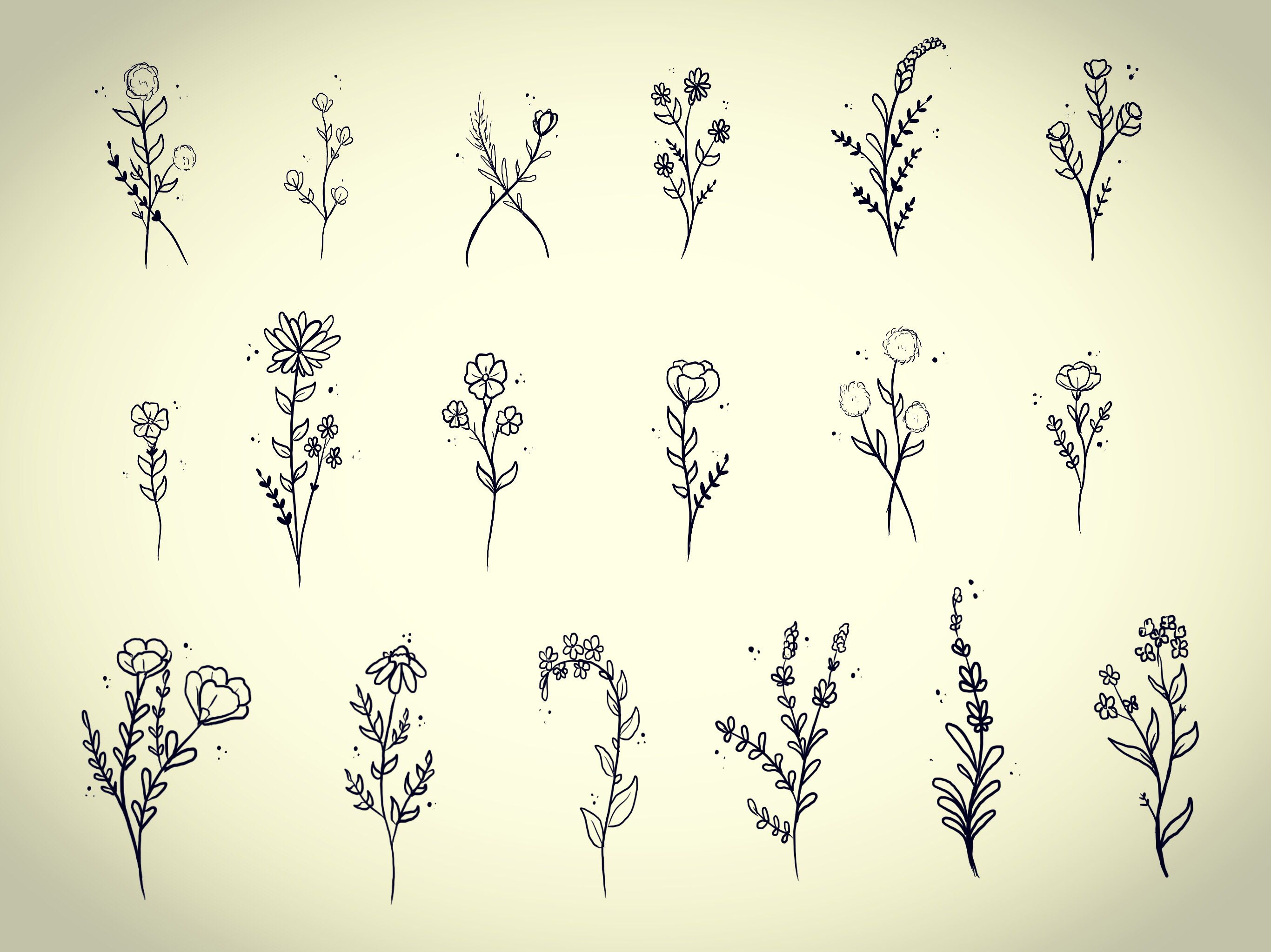 Tattoo ideas simple small small custom flowers by casey hart at rose red tattoo ellicott city