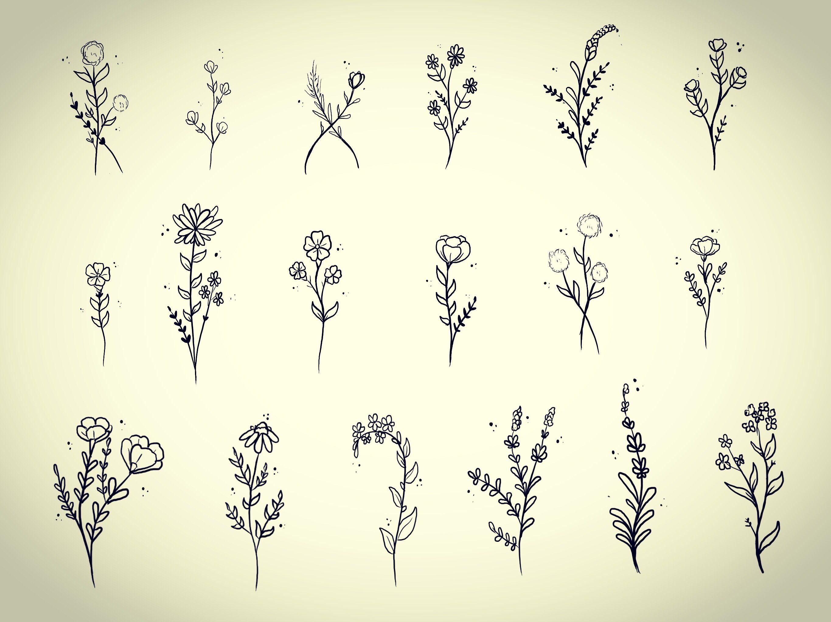 Best 10 Small flower tattoos ideas on Pinterest Delicate flower