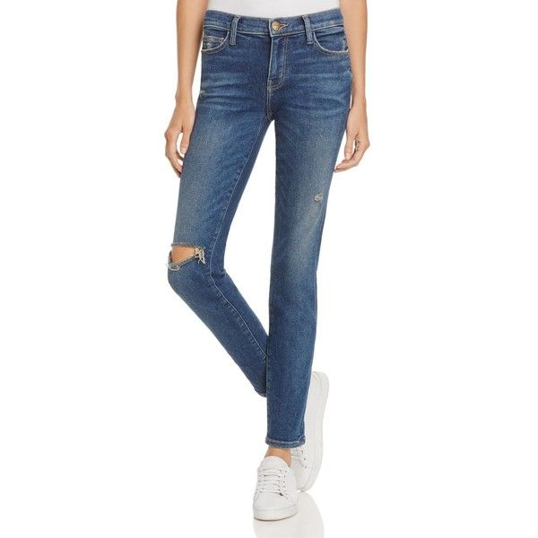 b0a0b59d66f Current/Elliott The Stiletto Skinny Jeans in Wren Destroy (£187) ❤ liked