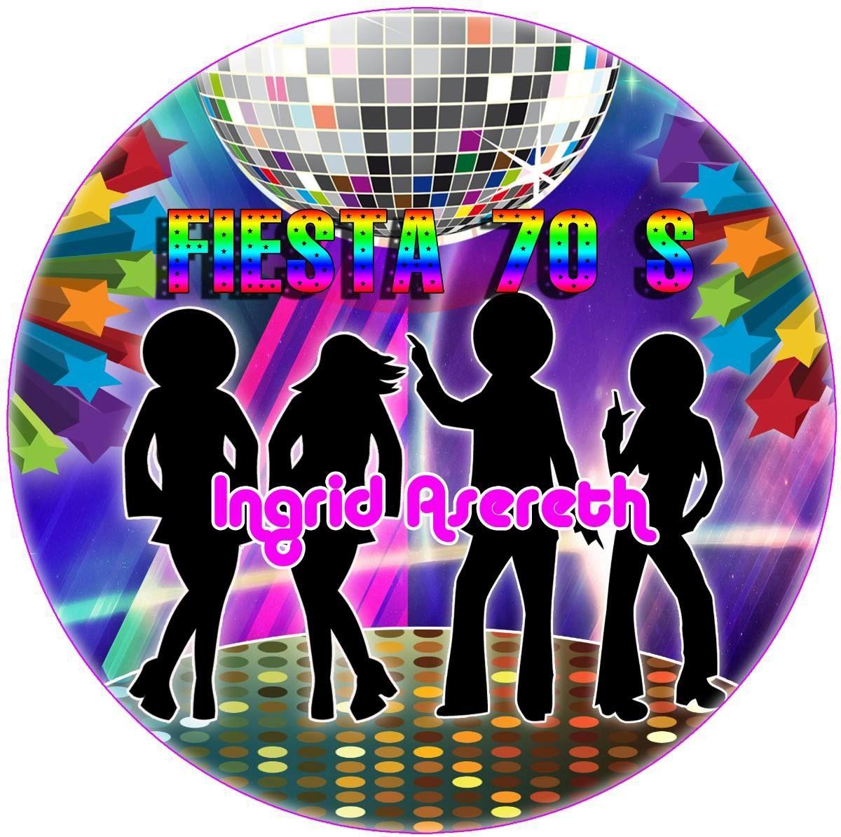 Resultado de imagen para centros de mesa para fiesta de - Fiesta disco anos 70 ...