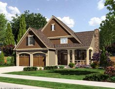 Craftsman Style House Plan 50164 With 4 Bed 3 Bath 2 Car Garage Craftsman Style House Plans Craftsman House Plan House Plans