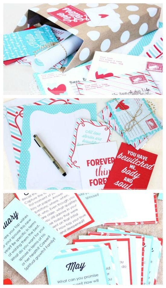 Love Letter of the Month Club! I would love to do this for my - love letter to my husband