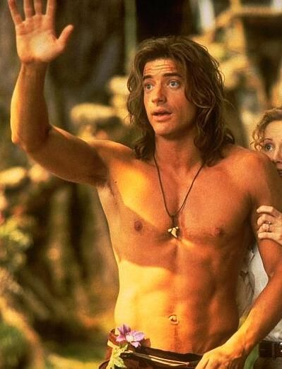 brendan fraser looked great in george of the jungle great George of the Jungle DVD