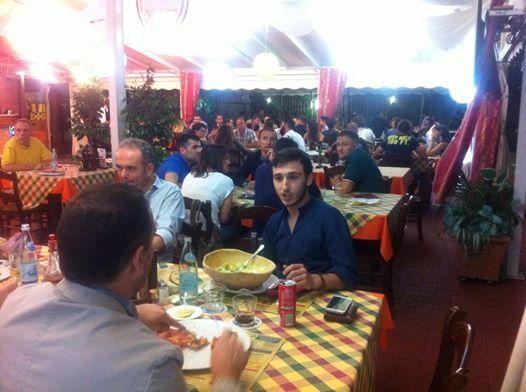 MYevent Vicenza, 1 luglio 2014, cene Wisionarie: più di 60 persone a tavola insieme dopo il meeting!!