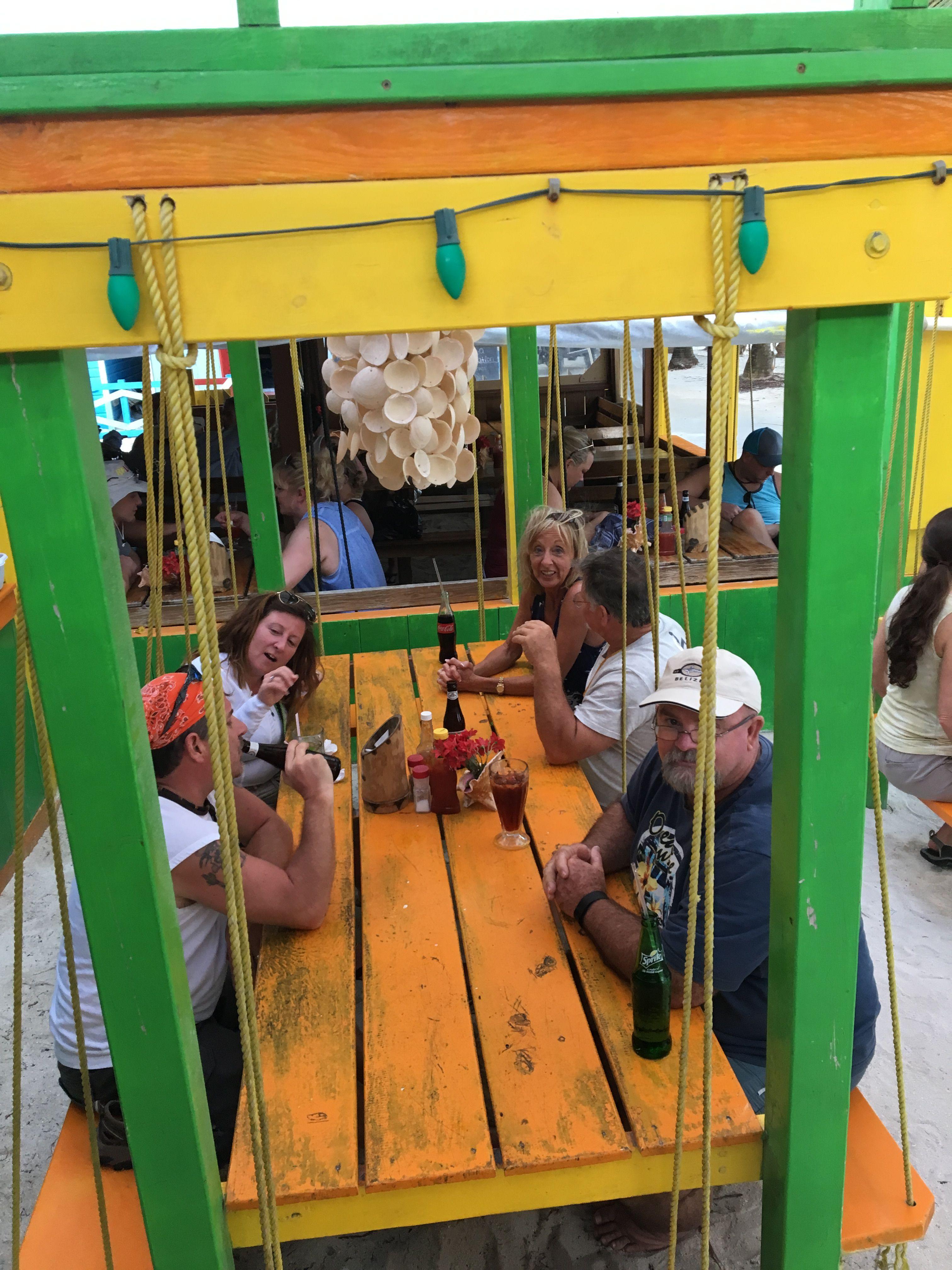 Bambooze restaurant island life caye caulker belize