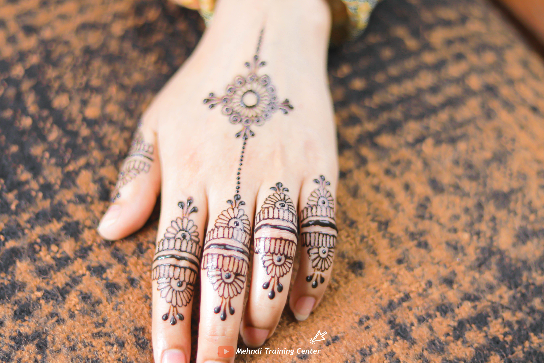 Beautiful Finger Mehndi Design For Eid 2020 Most Famous Mehndi Design On Youtube Mehndi Designs For Fingers Henna Hand Tattoo Hand Tattoos