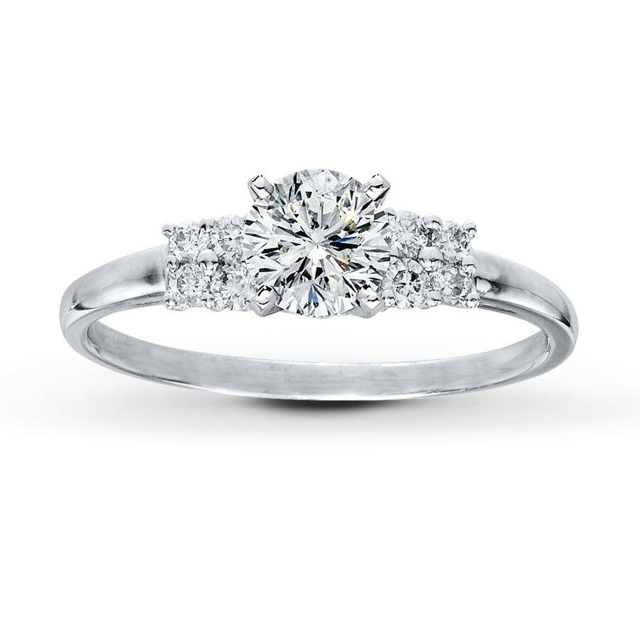 Diamond Ring Setting 15 CT TW RoundCut Platinum Jared The