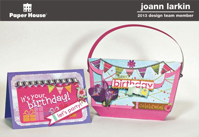 Birthday Girl Card & Purse - Scrapbook.com