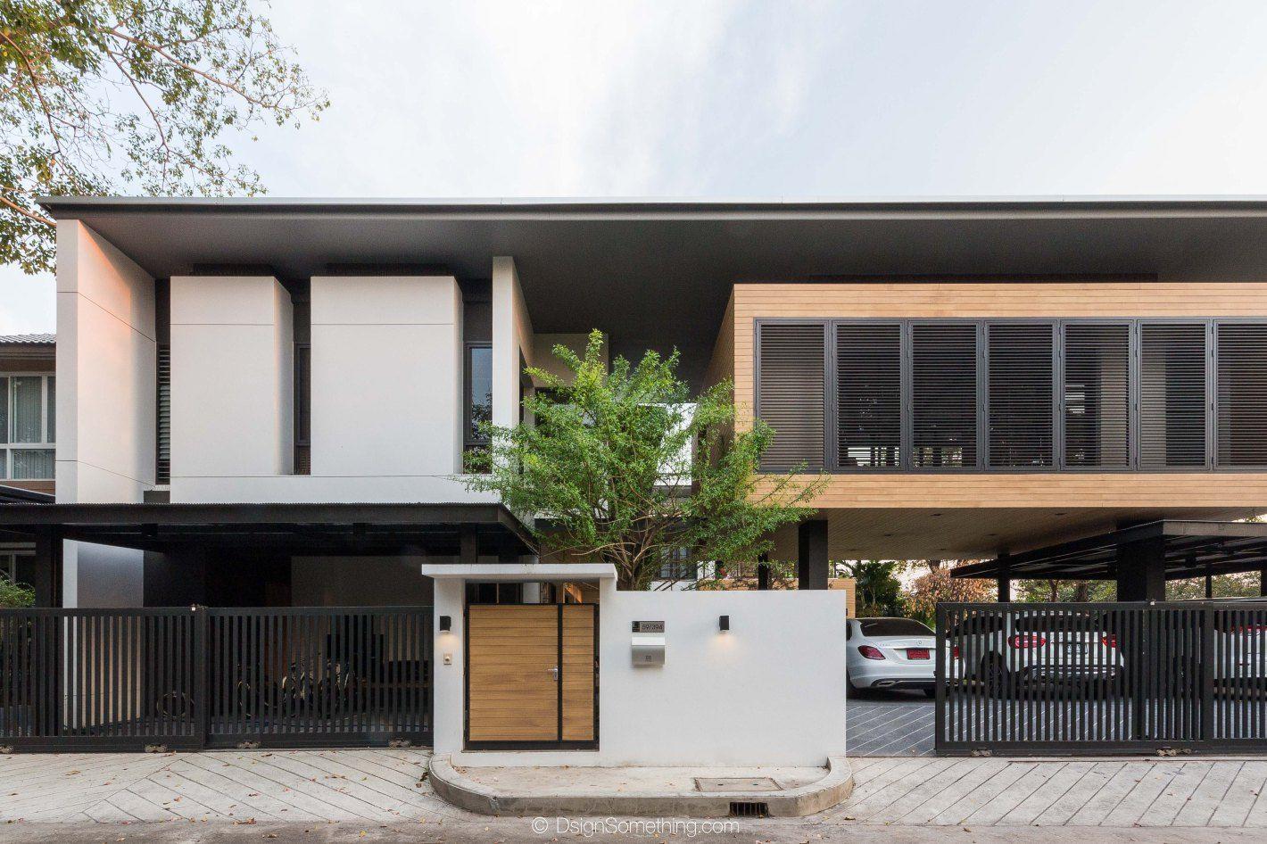 K Oum K Pol House L Greendwell Tropical Modern House Bangkok สถาป ตยกรรมสม ยใหม สถาป ตยกรรมบ าน บ านโมเด ร น