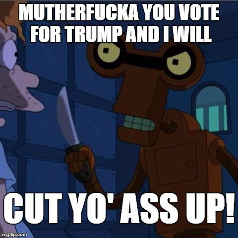 Roberto Futurama Meme Generator Imgflip Trump Dump Futurama