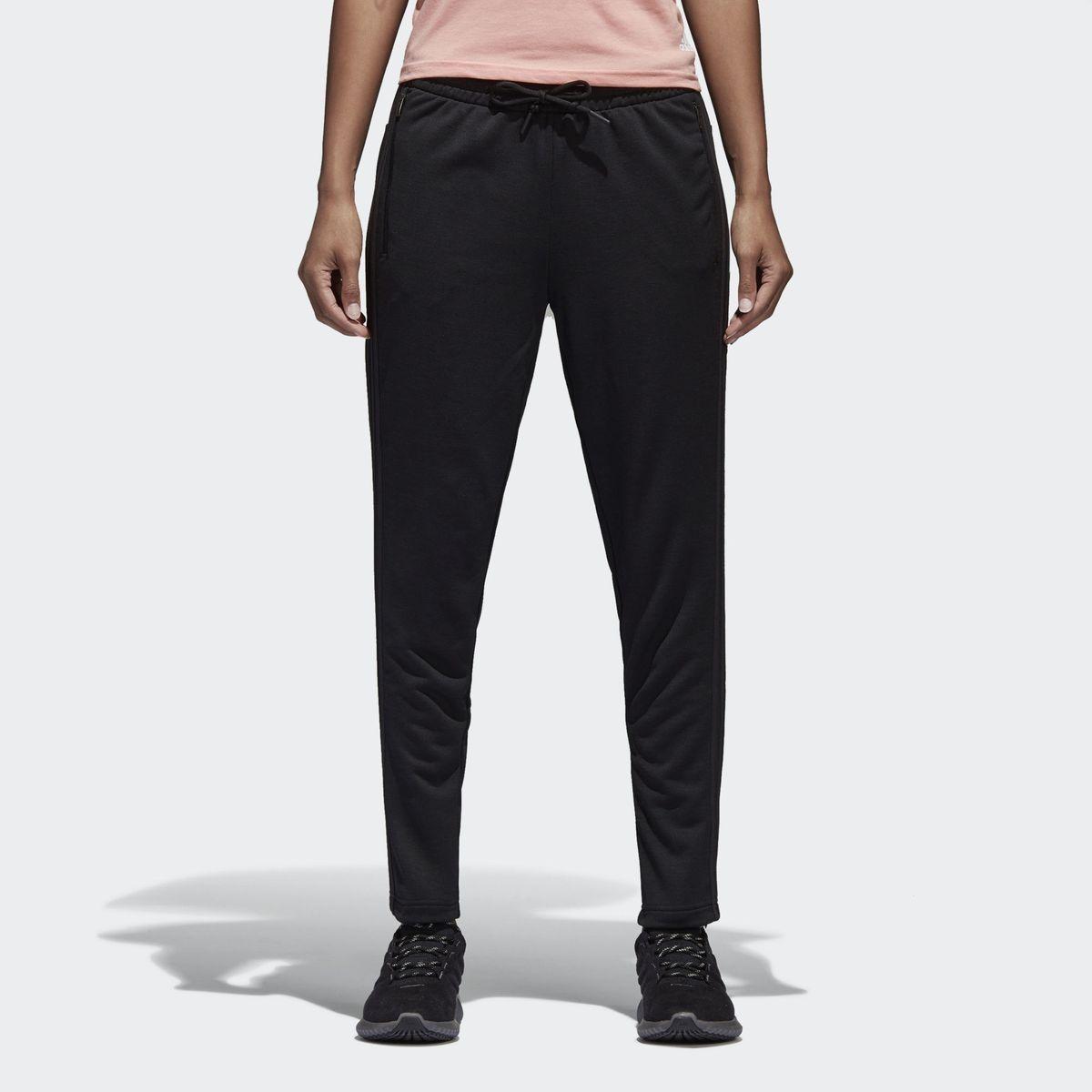 nouveau produit c1e6b f2541 Pantalon Adidas Id Striker Noir Femme - Taille : 42 ...