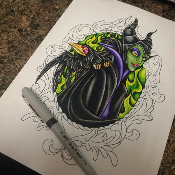 Maleficent Tattoo Maleficent Tattoo Disney Tattoos Maleficent Drawing