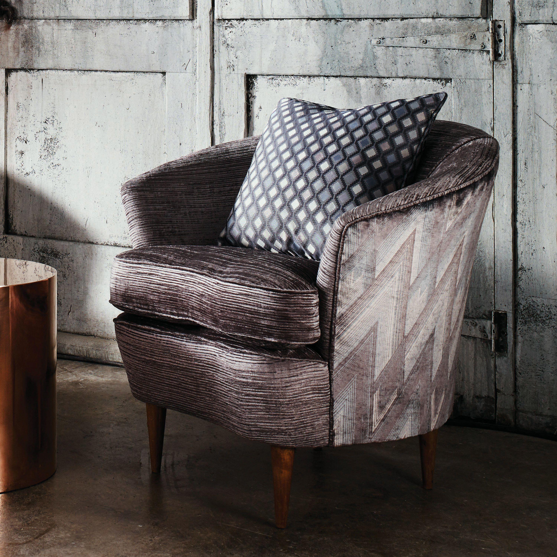 ASTORIA velvet by Osborne & Little Fabric sofa