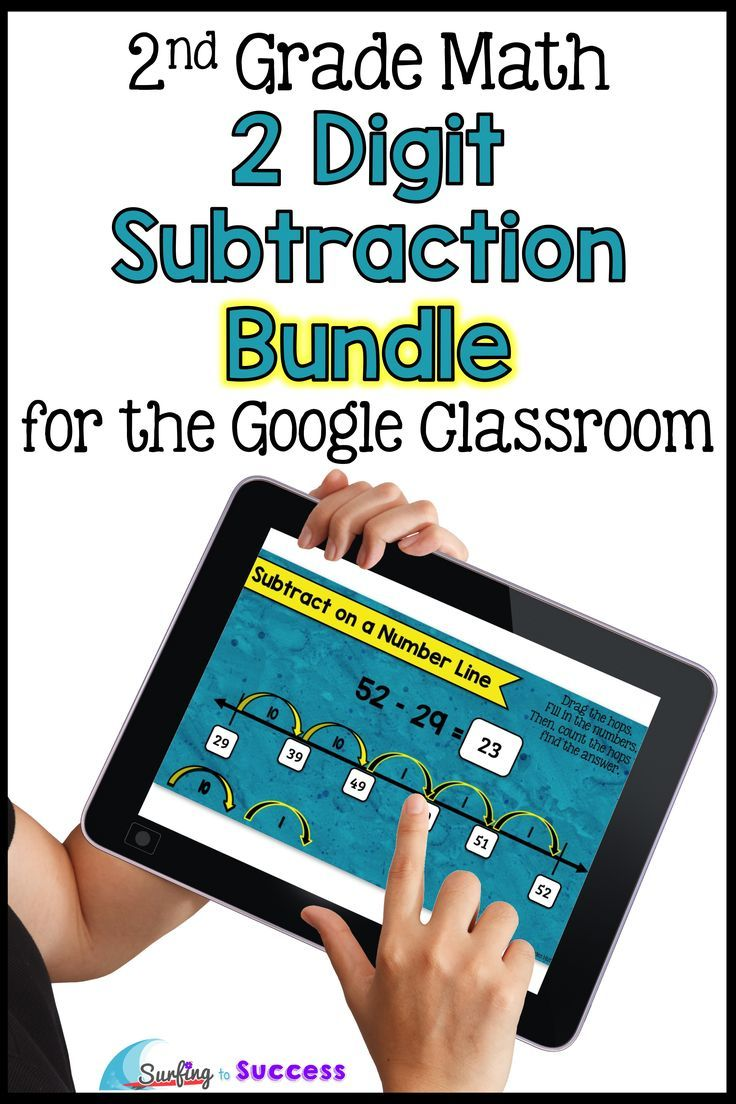 Two Digit Subtraction with Regrouping BUNDLE for the Google ...