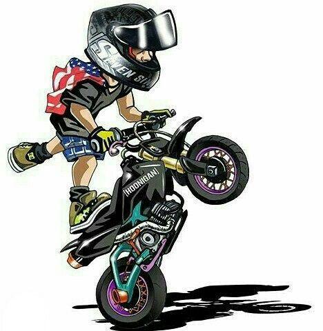 Pin do a luiz mazza em stunt bikes art pinterest for Tattoo shops in plano