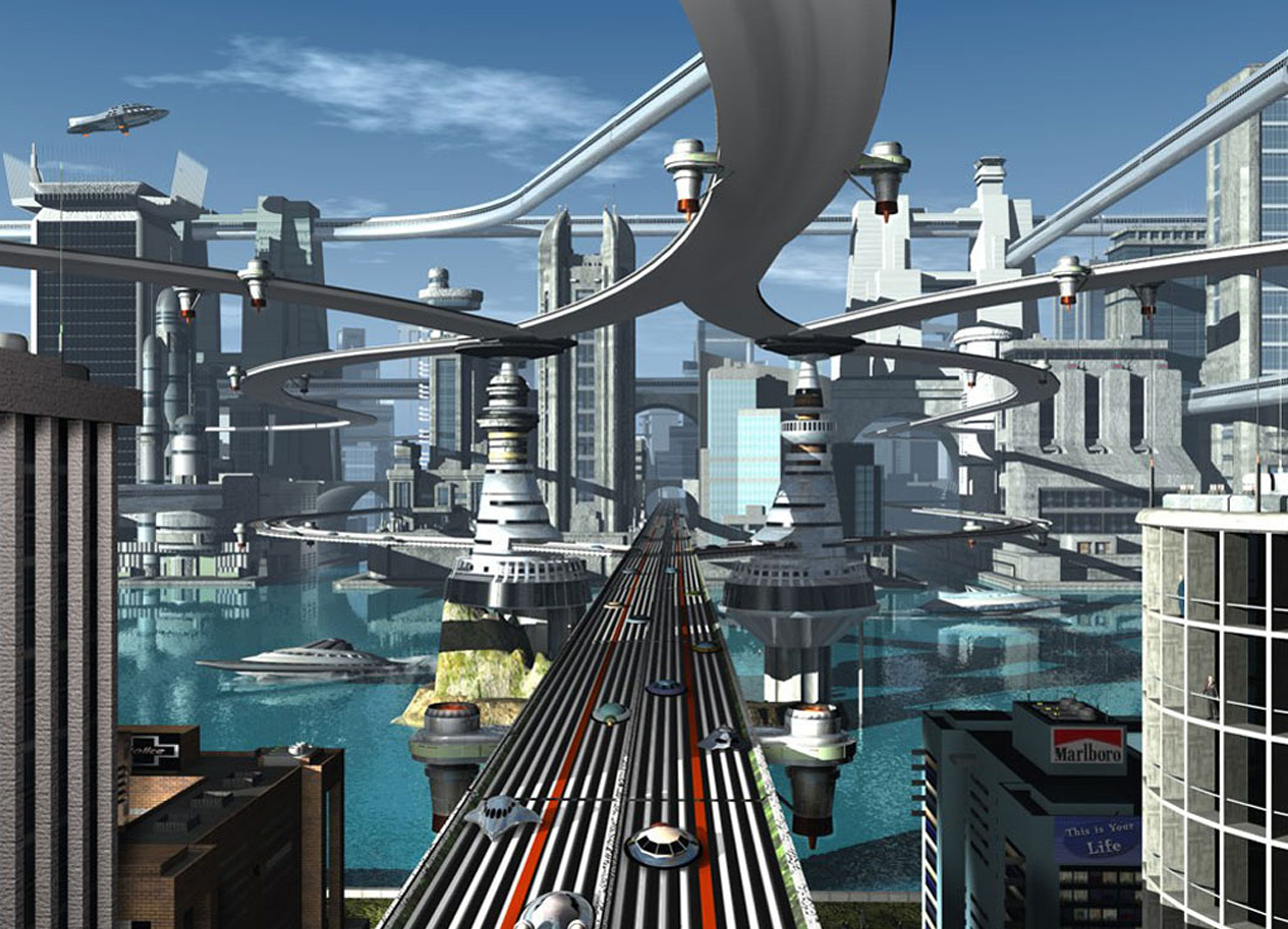 FAST FORWARD : TRANSIT 2050 | City of the Future | Pinterest | Sci ...