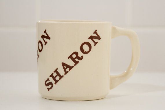Vintage boutique Mug Céramique-Sharon