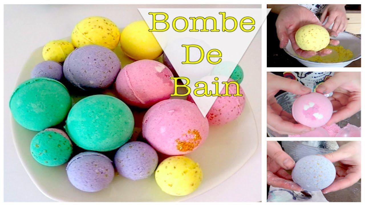 DIY | Bombe de bain | Bath Bomb - YouTube | Bain | Pinterest ...