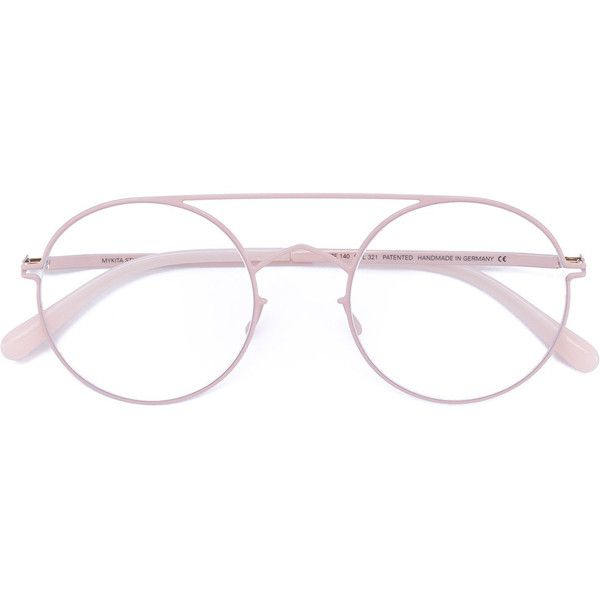 f5a9b7d5ba1 Mykita round-frame glasses ( 600) ❤ liked on Polyvore featuring accessories