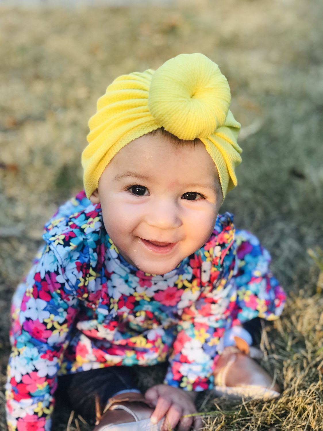 TWILIGHT- Ready To Ship Knot Turban- Solid BLUE   Baby Turban Hat Headwrap Baby Hat Adult Turban Hat Baby Beanie Turban Top Knot