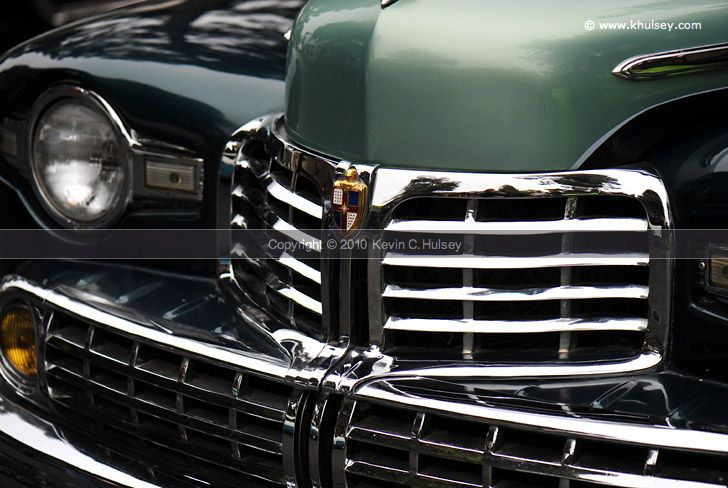 1940s Era Lincoln Front Grill Classic Cars Pinterest Front