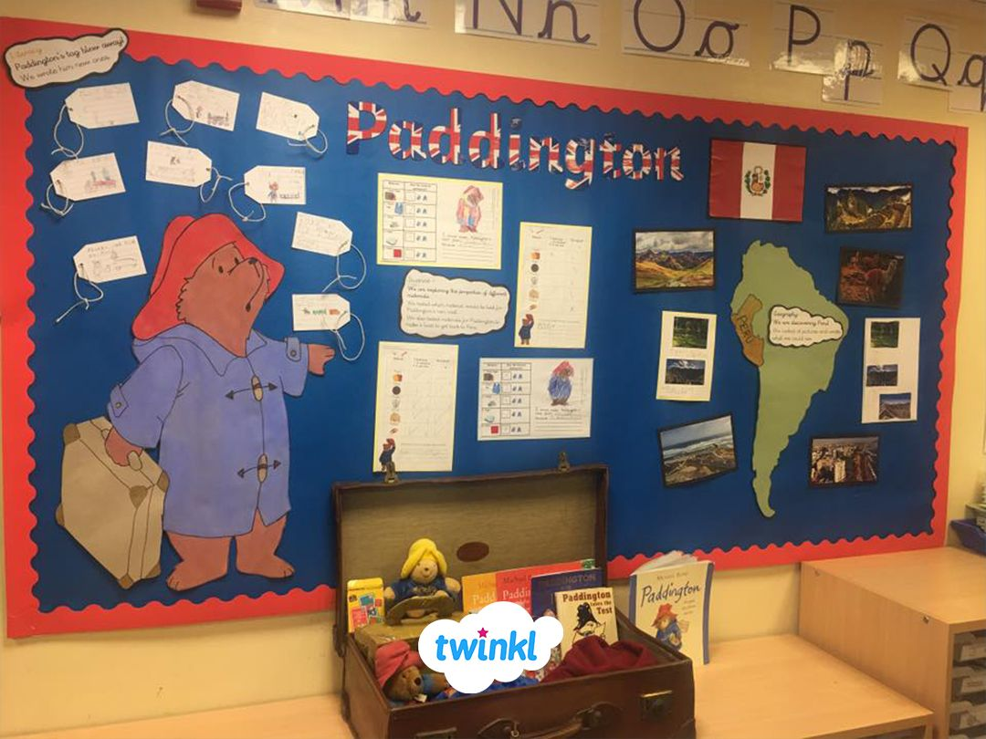Amazing Paddington Bear Classroom Wall Display Perfect