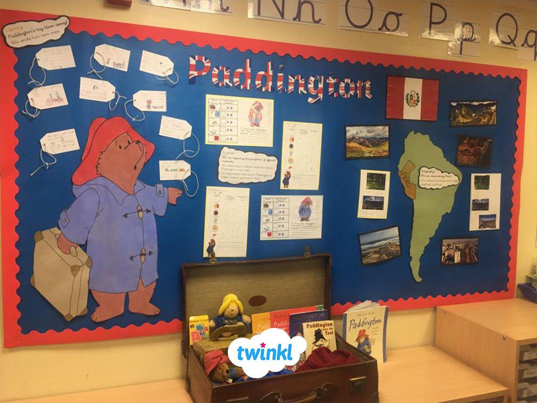Amazing Paddington Bear Classroom Wall Display Perfect