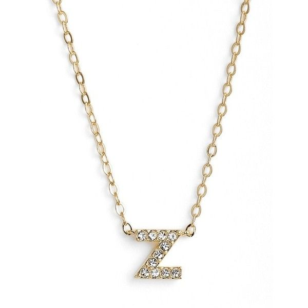 Womens nadri initial pendant necklace 42 liked on polyvore womens nadri initial pendant necklace 42 liked on polyvore featuring jewelry aloadofball Image collections