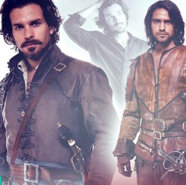 Aramis & D'Artagnan. The Musketeers