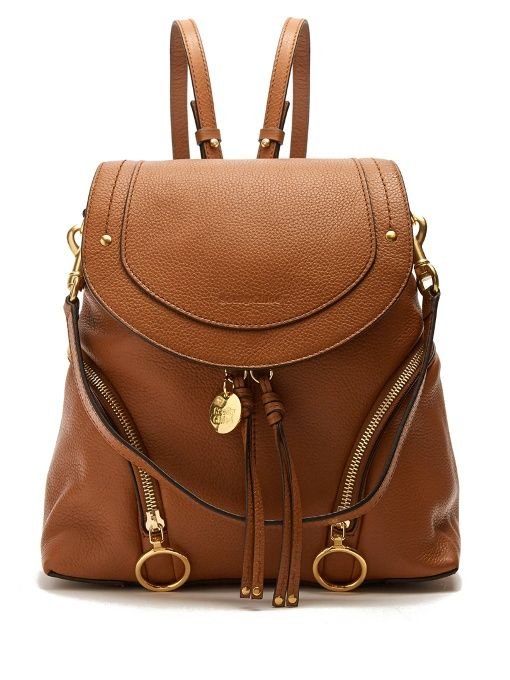 See By Chloé Olga medium grained-leather backpack  3c5ed2fa73d71
