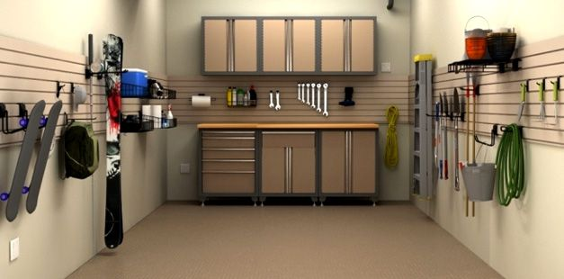 This Would Be Made So Simple With The Black And Decker Cabinetry At Itsara Com With Images Garage Interior