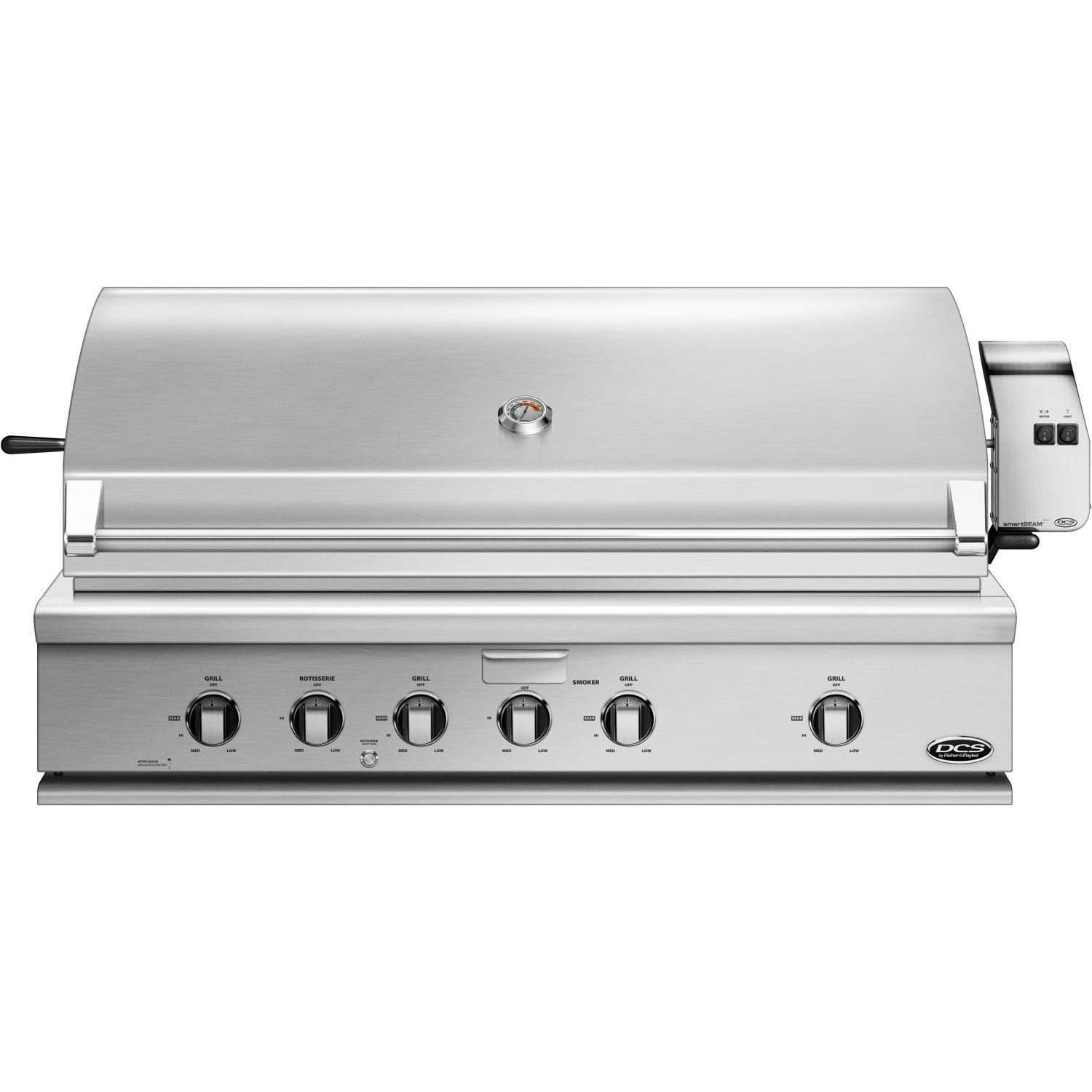 Dcs Series 7 Traditional 48 Built In Propane Gas Grill With Rotisserie Bh1 48r L Propane Gas Grill Built In Grill Brushed Stainless Steel