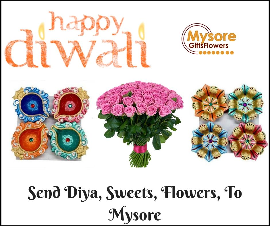 Happy Diwali Send Flowers, Sweets, Chocolates, Gifts to Mysore