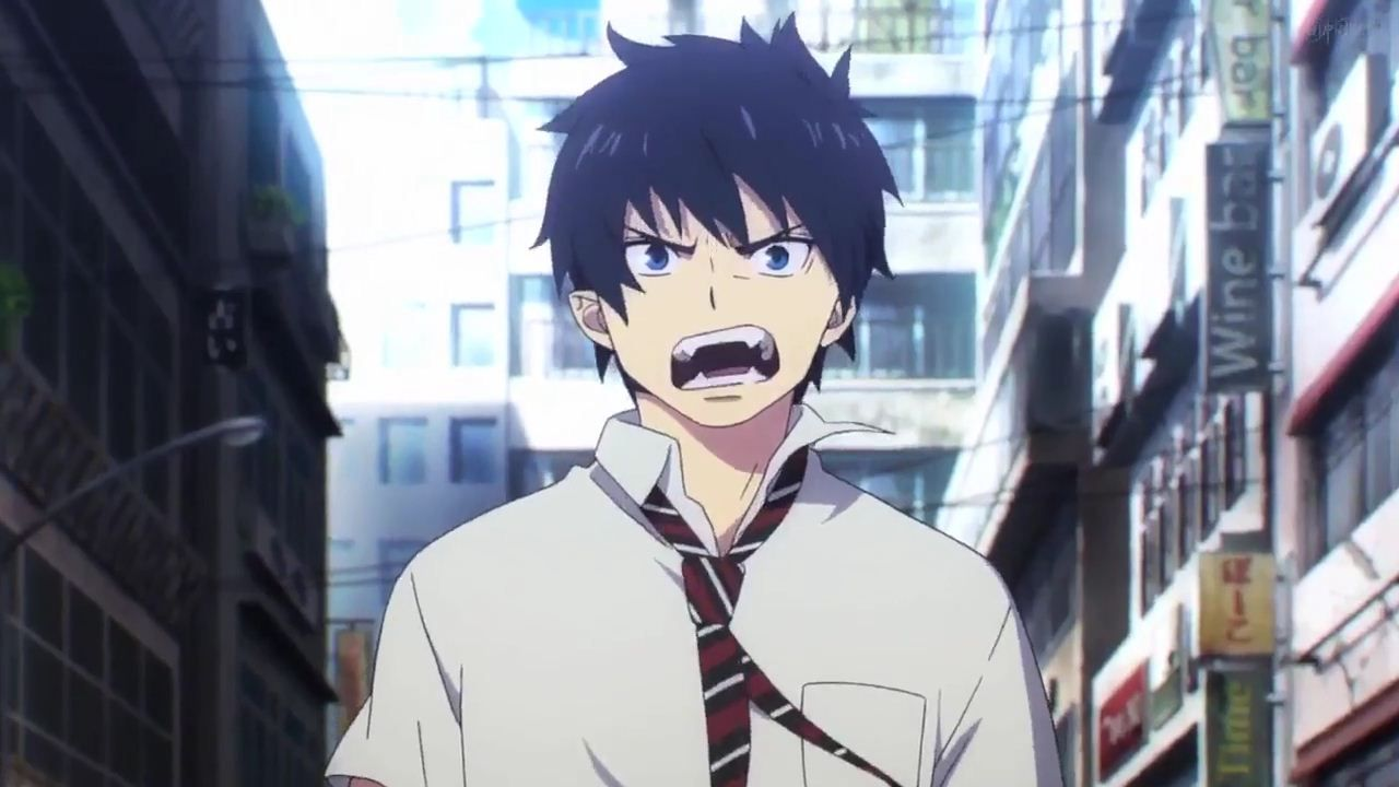 rin okumura  new blue exorcist anime tv series 2017  kyoto