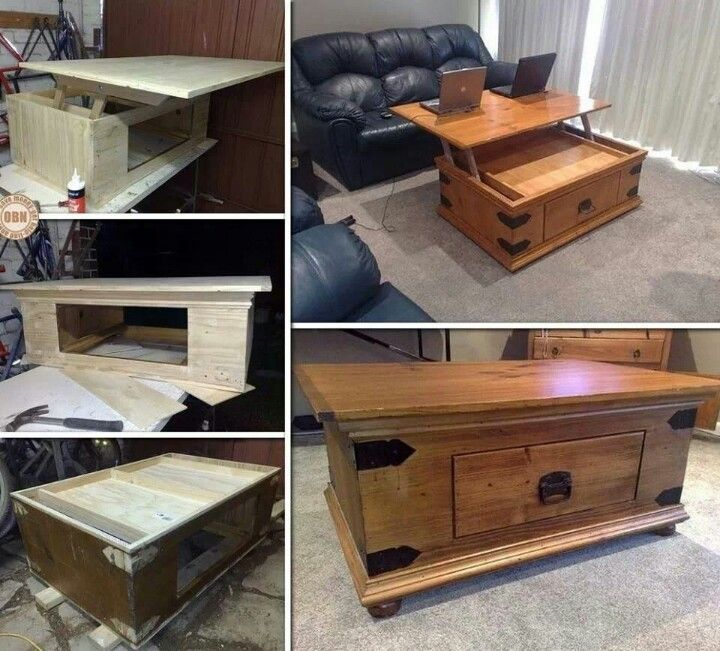 Diy Extended Coffee Table