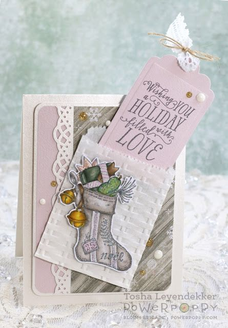 Stamp Talk with Tosh: Fully Stocked ~ Power Poppy's Happiest Holiday Collection