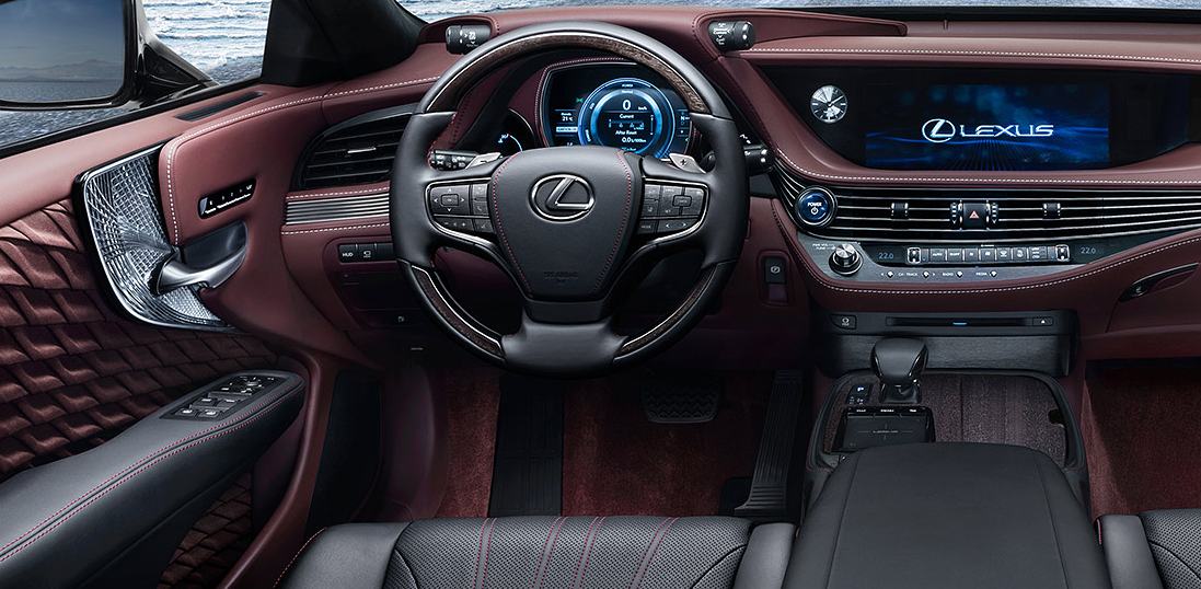 2018 Lexus Ls 500 Interior Lexus Lexus Ls Upcoming Cars