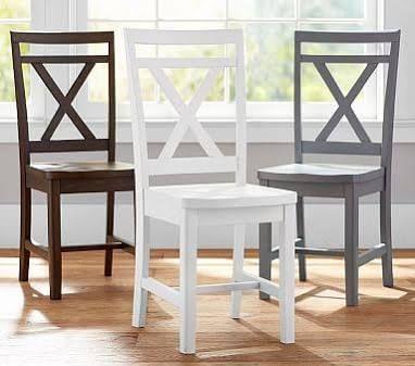 white wood desk chair - Google Search