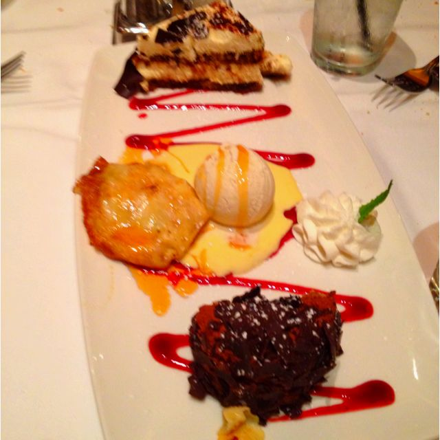 Dolce trio from Il Fornaio ... Yummy!