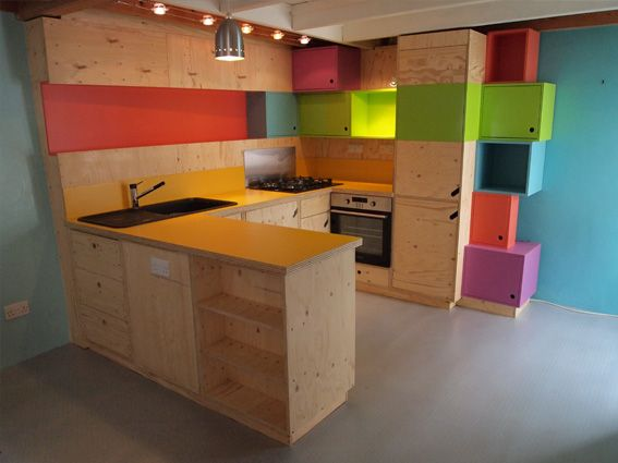 custom kitchen by Charlie Crowther-Smith