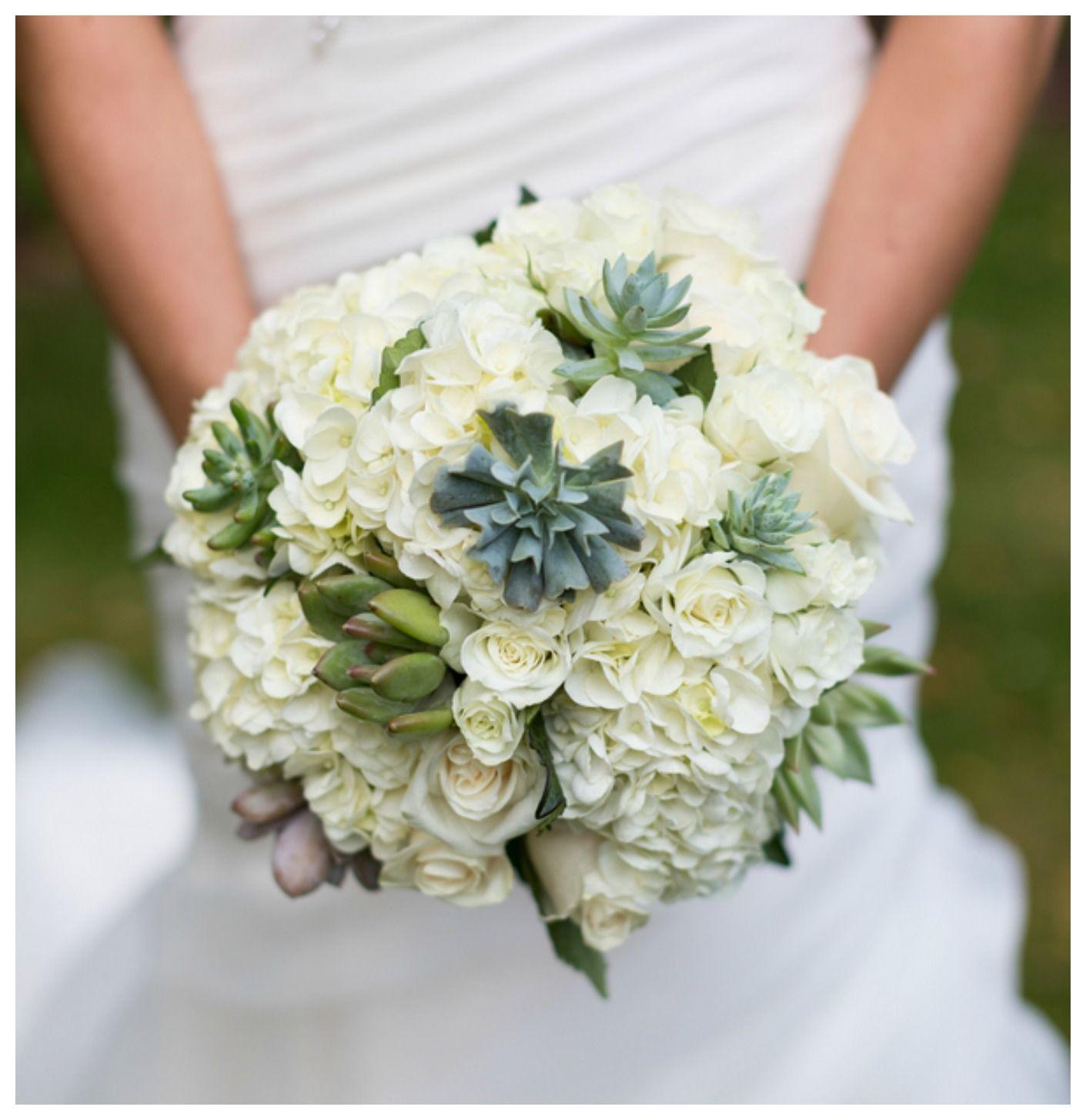 Rustic Maine Coastline Wedding Hydrangea bouquet wedding