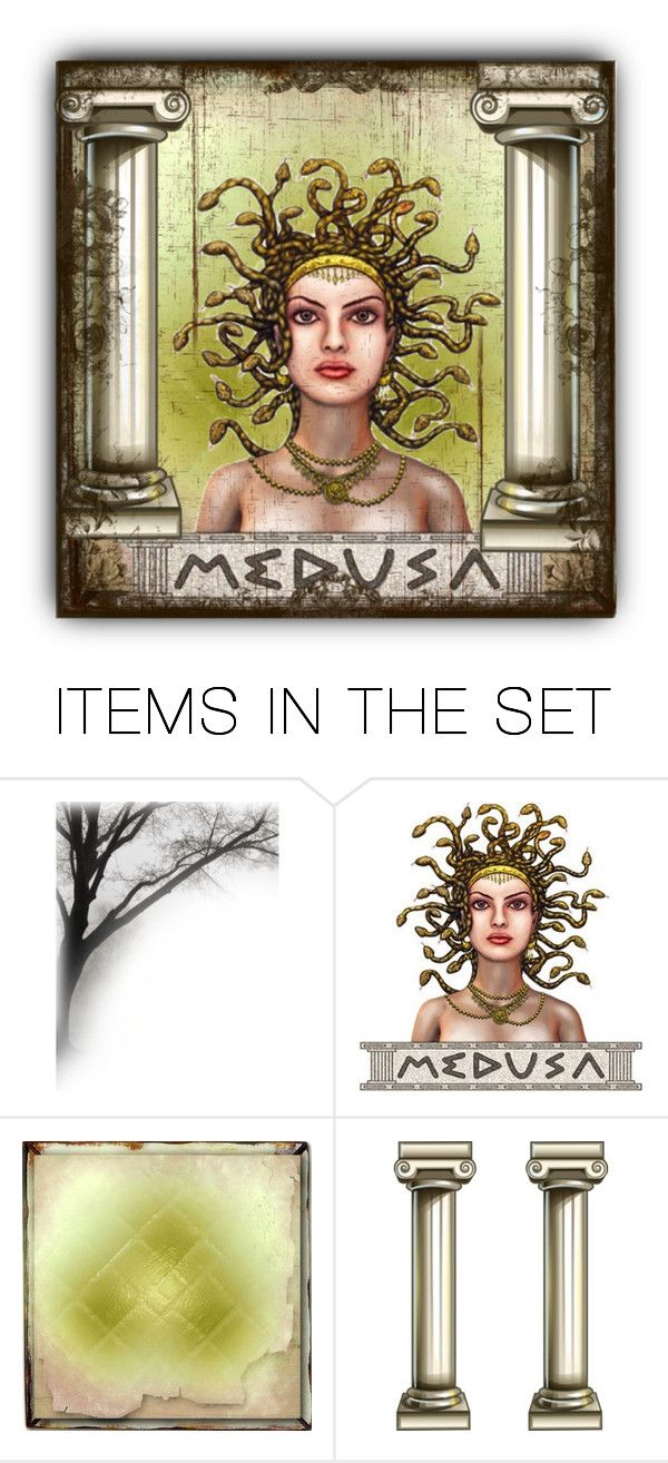 """""""Medusa"""" by sabine-713 ❤ liked on Polyvore featuring art"""