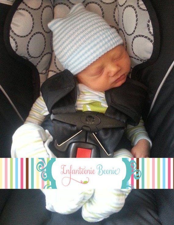 865125094874 newborn hospital hat for boys
